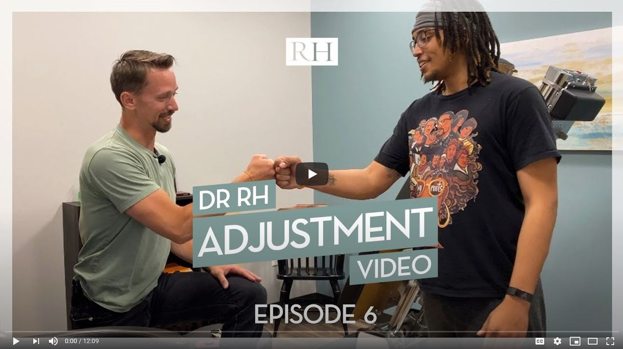 Chiropractic Adjustment at RH Health & Injury Specialists in Inver Grove Heights MN